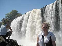 experience the blue nile falls